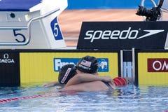 SWM: World Aquatics Championship - Womens 200m freestyle final Royalty Free Stock Image