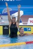 SWM: World Aquatics Championship - Womens 400m freestyle final Stock Images