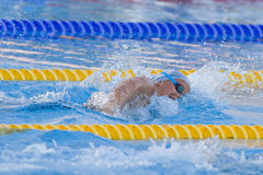 SWM: World Aquatics Championship - Womens 400m freestyle final Stock Photo