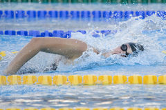 SWM: World Aquatics Championship - Womens 200m freestyle semi fi Stock Photography