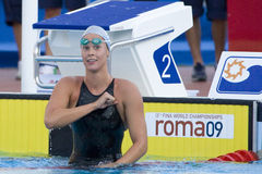 SWM: World Aquatics Championship - Womens 200m freestyle semi fi Royalty Free Stock Photo