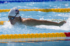 SWM: World Aquatics Championship - Womens 400m individual medley Stock Photos
