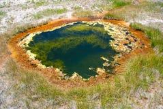Swoboda basen Górny gejzeru basen w Yellowstone parku narodowym Obraz Royalty Free