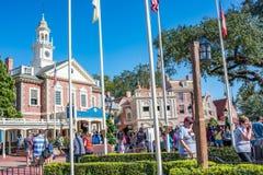 Swoboda kwadrat przy Magicznym królestwem, Walt Disney świat Obrazy Royalty Free