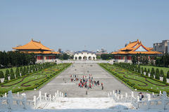 Swoboda kwadrat, Taipei, Tajwan Fotografia Royalty Free