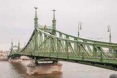Swoboda most lub wolność most w Budapest Fotografia Stock