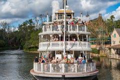 Swobody Kwadratowy Riverboat swobody belle przy Magicznym królestwem Zdjęcie Royalty Free