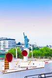 swobody Paris statua Fotografia Royalty Free