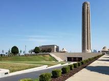 Swobody pierwszej wojny światowa Pamiątkowy muzeum w Kansas Missouri zdjęcie royalty free