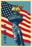 Swobody Pochodnia. Zdjęcie Royalty Free