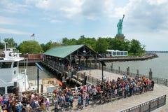 Swobody statua, Nowy Jork podróż Zdjęcie Royalty Free