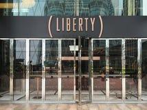 Swobody Wekslowa restauracja przy wymiana kwadratem Hong Kong zdjęcie stock