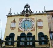 Swobody wierza w Bassano Del Grappa i kwadrat, Włochy fotografia royalty free