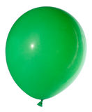 Swollen green balloon Stock Image