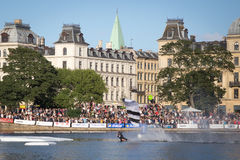 Swoop Challenge Copenhagen 2016 Royalty Free Stock Image