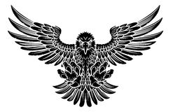 Swooping Eagle Stock Photo