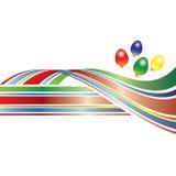 swoosh рождества цветастое Стоковое Фото