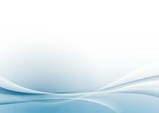 Αφηρημένο σύγχρονο σχεδιάγραμμα υποβάθρου γραμμών συνόρων swoosh άσπρο Στοκ Φωτογραφία
