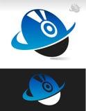 Swoosh Disc Icon Stock Photos