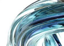 Swooshing glass Royalty Free Stock Images