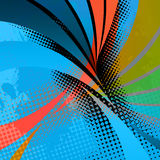Swooshy Lines Layout Stock Photos