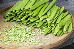 Sword Beans Isolated Royalty Free Stock Image