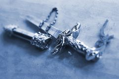 Sword closeup Royalty Free Stock Images