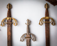 Sword collection Royalty Free Stock Images