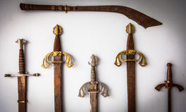 Sword collection Stock Image