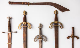 Sword collection Royalty Free Stock Image