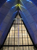 Sword cross inside Cadet Chapel. Sword cross inside Cadet Chapel at United States Air Force Academy Royalty Free Stock Images