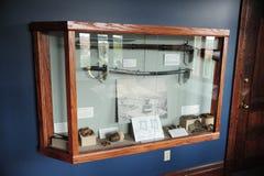 Sword and cutlass Exhibit at the Delta cultural train depot, Helena Arkansas. Stock Photography