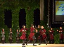 Sword dance Stock Photo