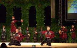 Sword dance Stock Photos
