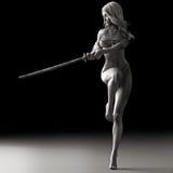 Sword dancer Stock Photos