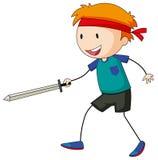 Sword fighting Stock Image