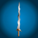 Sword,  illustration Stock Image