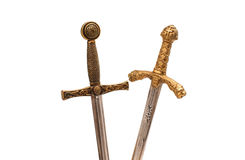 Sword isolated Stock Photography