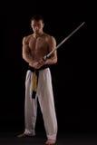 Sword master Stock Image