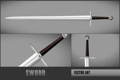 VECTOR Sword Stock Photography