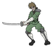 Sword ninja Stock Photos