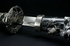 Sword of a Samurai Royalty Free Stock Images