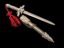 Sword and scabbard Stock Photo