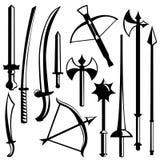 Sword set Stock Image