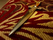 A Letter opener sword royalty free stock image