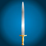 Sword, vector illustration Stock Photos