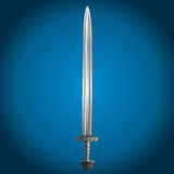 Sword, vector illustration Royalty Free Stock Photography