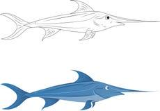 swordfish Fotografia de Stock