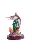 Swordfish Figurine Royalty Free Stock Photos