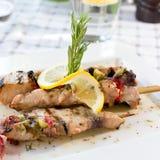 Swordfish fillet Stock Images